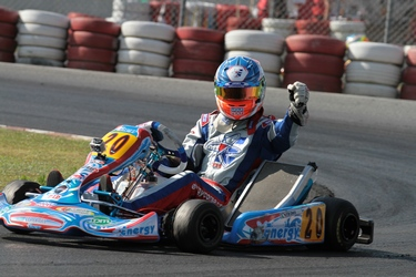 De Conto takes the Euro crown in KZ1