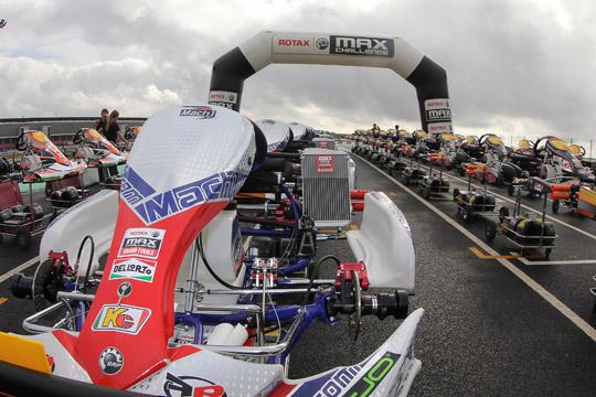 Mach1-Kart equips Rotax Max Grand Finals
