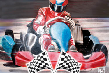 "Few days to go for the ""Kart and Race"" fair. Lots of attractions and a track for practising and testing"