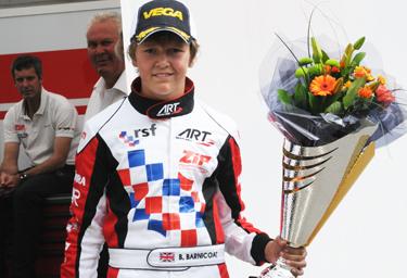Barnicoat to be crowned KF2 Euro Champ