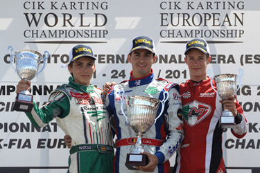 European KF2 Championship: Sami Luka inherits the crown