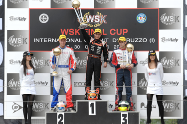 WSK Final Cup: Good Overall Performance for CRG in KZ