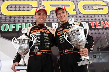 Double Success for CRG at European KZ1 Championship