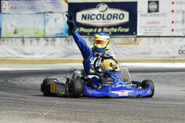 Lammers (KZ1) and Lennox Lamb (KZ2) new owners of 012 World Cups. Just in Sarno