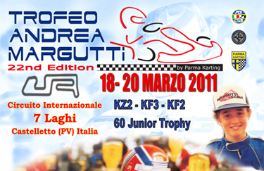 The date for the 22nd Andrea Margutti Trophy decided