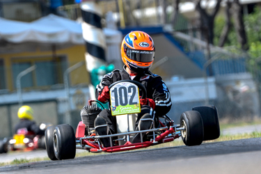 Big success for vintage karting feast