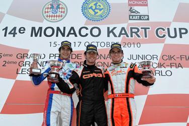 """Norman Nato on CRG-Maxter wins the prestigious """"Monaco Kart Cup"""" in KZ2"""
