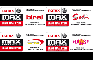 FOUR CHASSIS PARTNERS AT THE ROTAX GRAND FINALS