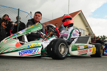 Schumi between a Grand Prix and the other