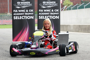 Lina Von Schedvin selected by the FIA Women in Motorsport Commission