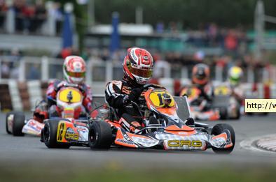 Pex (KZ1), Verstappen (KF2) and Midrla (KZ2) in pole position