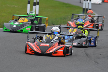 2012 CIK-FIA European Superkart Championship : Harpham at the Double