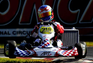 ART Grand Prix Karting still on-course for the CIK-FIA U18 World Championship title