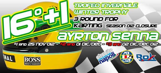 "16+1 edition of Trofeo ""Ayrton Senna"""