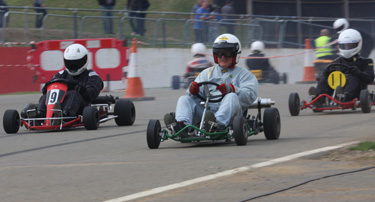 Historic Karters set Silverstone off in style
