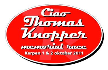 Ciao Thomas Knopper memorial race Countdown for Kerpen!