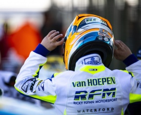 Laurens van Hoepen ready for the WSK Open Cup.