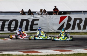 Van Hoepen ready for the FIA Karting European challenge.