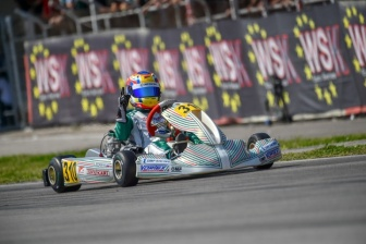 Double victory for the team on the first round of the WSK Euro Series.