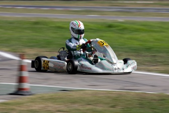 Gamoto wins again in ACI Karting.