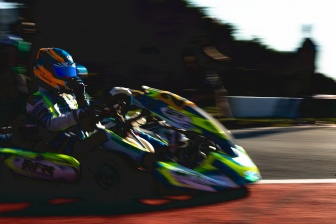 Van Hoepen's second last race of the year.