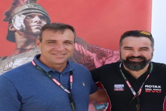 New partnership for the Brazilian Rotax karting business.