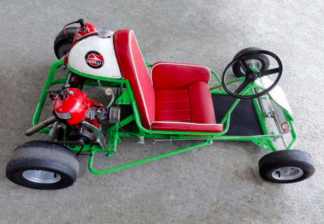 Karts of Yesteryear - The Silvercar.