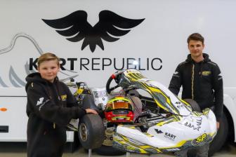 Tom Braeken with SP Motorsport to prepare him for Junior.