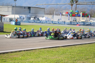 Gamoto Kart ends the season with a podium at the Trofeo Senna.