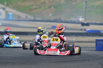 Birel Art North America racks up pole positions and main event wins at Calspeed