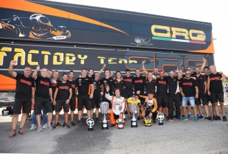 CRG wins the KZ European Championship  with Jorrit Pex.