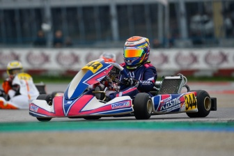 Intense WSK Final Cup in the rain.