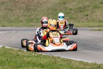 Thrilling halftime event at the Rotax MAX Challenge Euro Trophy in Sweden.