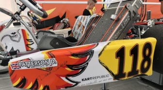 Patterson and Bedrin on pole in the European Championship in Essay.