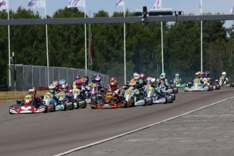 Exciting half-time of the Rotax Max Challenge Euro Trophy.