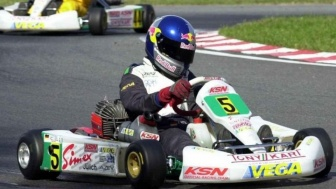 That time Sebastian Vettel met Davide Forè in Parma.