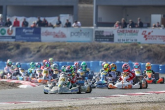 The 2018 IAME Euro Series kicks off with spectacular first race in Salbris.