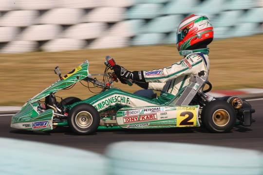 Camponeschi takes the 18th World Championship to Tony Kart-Vortex