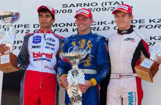 Praga Kart wins the World Cup in KZ1
