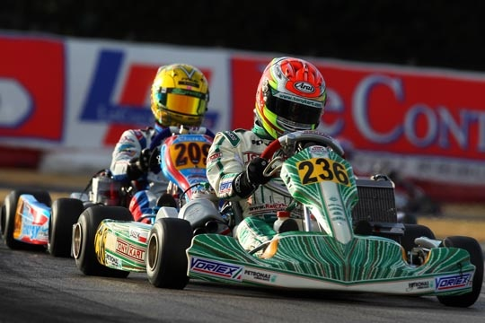 Good results on the occasion of the first WSK Master at La Conca.