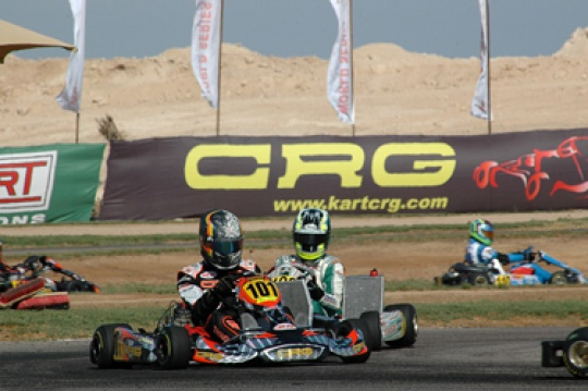 CRG-Maxter wins the WSK World Series with Jonathan Thonon in KZ2 and Max Verstappen in KF3
