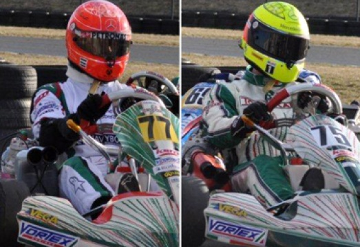 Schumacher & Schumacher on Tony Kart-Vortex