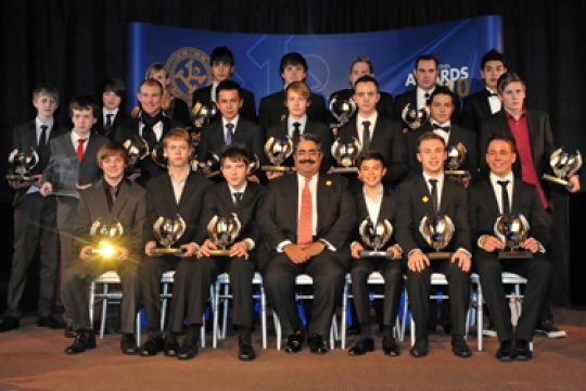 The FIA and the CIK celebrate their 2010 Karting Champions