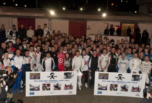 Memorial Kart Race fitting tribute to Dan Wheldon