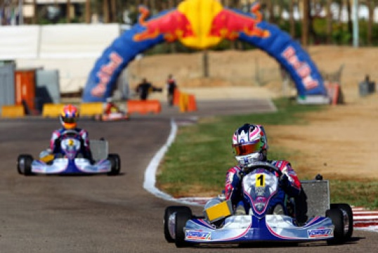 Kosmic Kart World Series Champion in SKF and KF2 category
