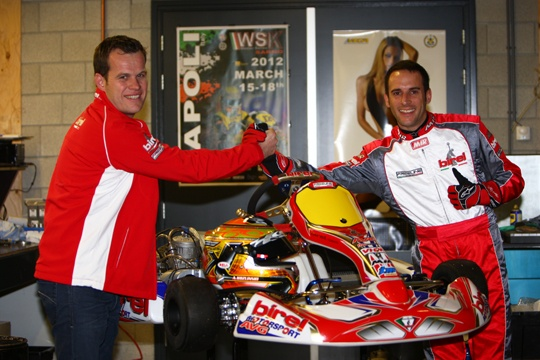 AVG Racing and Birel ready to rock in 2013