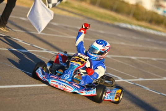 3 wins, 3 poles, and 8 podiums for Buddy Rice Karting