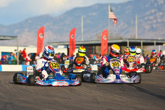 Busy start of 2013 for Buddy Rice Karting