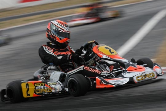 CRG IN SPAIN IN ZUERA WITH ITS WHOLE OFFICIAL TEAM FOR THE SECOND ROUND OF THE WSK EURO SERIES