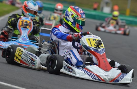 Mach1-Kart impresses at the WSK Final Cup